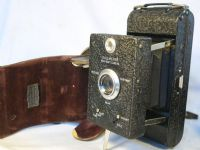 '      DALLMEYER SNAPSHOT CAMERA C/W Dallmeyer LENS- ' Dallmeyer Snapshot Folding Vintage Camera c/w Original Case  =VERY RARE=NICE=  £249.99